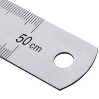 Kraf Çelik Cetvel 50cm İnch Ölçülü (550G)