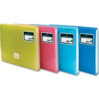 Faber-Castell Körüklü Dosya Neon Renkler Kırmızı