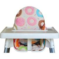 İkea Antilop Mama Sandalyesi İçin Oturma ve Destek Minderi - Donut Love
