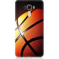 Teknomeg Asus Zenfone 3 Laser ZC551KL Basketbol Baskılı Silikon Kapak Kılıf