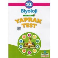 İnovasyon 10. Sınıf Biyoloji Yaprak Test