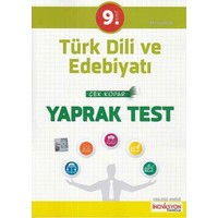 İnovasyon 9. Sınıf Türk Dili Ve Edebiyatı Çek Kopar Yaprak Test