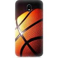 Teknomeg Samsung Galaxy J7 Pro Basketbol Baskılı Silikon Kapak Kılıf