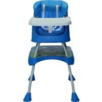 Ninikids Çok Fonksiyonlu Mama Sandalyesi Mavi