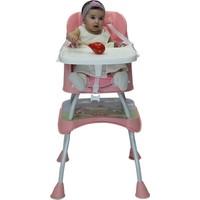 Ninikids Çok Fonksiyonlu Mama Sandalyesi Pembe