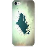 Teknomeg Apple iPhone 7 Göktürk Bozkurt Desenli Silikon Kılıf