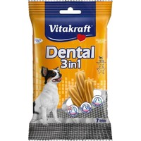 Vitakraft Dental 3 in 1 Mentol ve Çinko Katkılı Küçük Köpek Ödül 7 parça