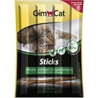 Gimcat Sticks Kuzu etli Tavuklu Tahılsız Kedi Ödül Çubukları 4'lü 20 gr