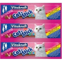 Vitakraft Cat Stick Morina Balığı Deniz Ürünlü 3 lü Kedi Ödül Çubuk 54 gr