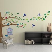 Bisticker W-144 Ağaç Duvar Sticker