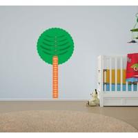 Bisticker W-196 Çocuk Odası Ağaç Boy Ölçer Duvar Sticker