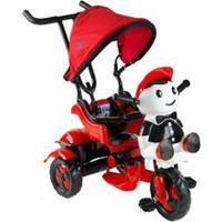 Babyhope 125 Yupi Üçteker Bisiklet Kırmızı - Siyah
