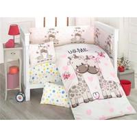 Kidboo Sweet 8 Parça Baskılı Uyku Seti 7 x 130