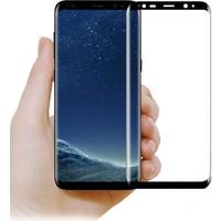 Elx Samsung Galaxy S9 3D Kavisleride Kaplayan Renkli Temper Cam