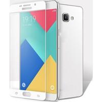 Elx Samsung Galaxy Note 5 3D Kavisleride Kaplayan Renkli Temper Cam