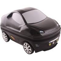 Laguna 2024 Araba Şeklinde Pvc Çocuk Valizi Siyah