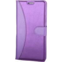 Case Man Lg K7 Kartvizit Ve Standlı Premium Kapaklı Cüzdan Kılıf + Temizlik Kiti + Kalem