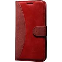 Case Man Lg G4C Kartvizit Ve Standlı Premium Kapaklı Cüzdan Kılıf + Cam + Temizlik Kiti
