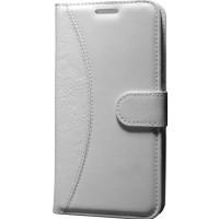 Case Man Huawei Ascend G7 Kartvizit Ve Standlı Premium Kapaklı Cüzdan Kılıf + Cam + Temizlik Kiti