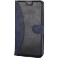 Case Man Vestel Via V3 5570 Kartvizit Ve Standlı Premium Kapaklı Cüzdan Kılıf + Cam + Temizlik Kiti
