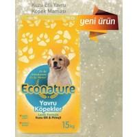 Econature Kuzulu Yavru Kuzulu Köpek Maması 15 Kg (Hediyeli)