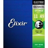 Elixir 011-049 Optiweb Elektro Gitar Teli (19102)