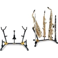 HERCULES DS538B Alto Tenor Soprano Sax ve Flüt Klarnet Sehpası