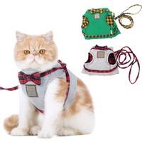 Hoopet Tasmalı Gezdirme Kedi Kıyafeti Yelek