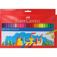 Faber-Castell Unicolor Keçeli Kalem 50Li