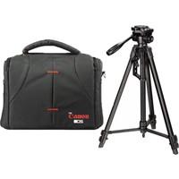 Haskan Canon Dslr Fotoğraf Makineleri İçin 170cm Tripod + Set Çanta