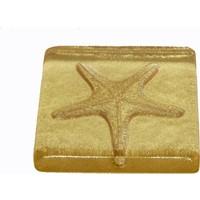 Atadan Altın Simli Deniz Yıldızı Dekoratif Banyo-Mutfak Gider Süsü