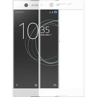 Teleplus Sony Xperia Xa1 Tam Kapatan Kırılmaz Cam Beyaz