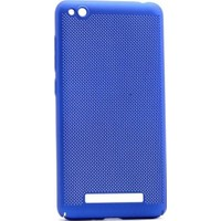 Teleplus Xiaomi Redmi 4A Delikli Kapak Kılıf Mavi