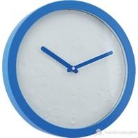 XOOM Eg6911ayp19bl Duvar Saati Mavi Çerçeveli