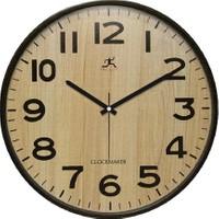 Clockmaker By Cadran Retro Vintage 30X30 Mdf Duvar Saati Cmm169