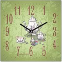 Clockmaker By Cadran 30x30 Mdf Duvar Saati CMM289
