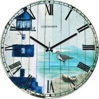 Clockmaker By Cadran Retro Vintage 30X30 Mdf Duvar Saati Cmm65