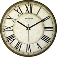 Clockmaker By Cadran Retro Vintage 30X30 Mdf Duvar Saati Cmm86