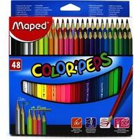 Maped 832048 48 Renk Color Peps Kuru Boya