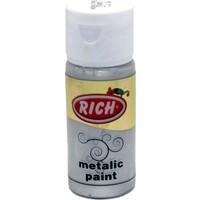 Rich Metalik Akrilik Boya 0732 Gümüş 30 Cc