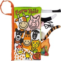 Jellycat Bez Kitap Farm Tails