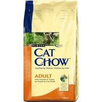 Cat Chow Tavuklu Hindili Yetişkin Kuru Kedi Maması 15 Kg
