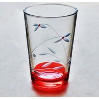 Başak 52052 Kardelen (Kırmızı) Su Bardağı 12 Adet