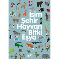İsim,Şehir,Hayvan,Bitki,Eşya