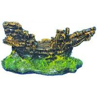 Ti-Sert Minik Gemi Akvaryum Dekoru (D-105)