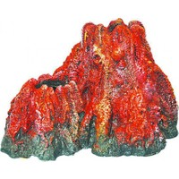 Ti-Sert Volkanik Ada Akvaryum Dekoru (D-366)