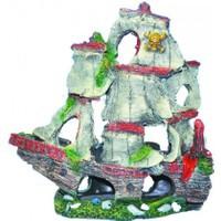 Ti-Sert Yelkenli Gemi Orta Boy Akvaryum Dekoru (D-123)