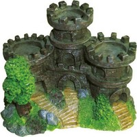 Chicos Akvaryum İçin Dekoratif Kale 10,5X7X7,5 Cm