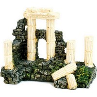 Chicos Akvaryum İçin Dekoratif Roma Harabe 10,5 X 5 X 8,5 Cm