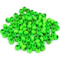 Hunga Yeşil Renk Ahşap Boncuk 8Mm